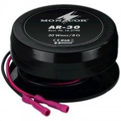 Monacor AR-30 Haut parleur vibreur étanche 8 Ohm