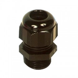 TYCO ELECTRONICS M16 Nylon Cable Gland (Black)
