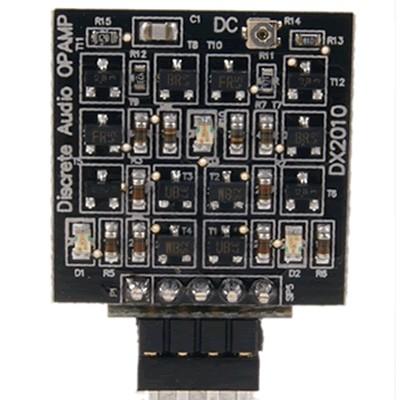 DEXA DISCRETE AUDIO OPAMP - AOP simple à composants discrets