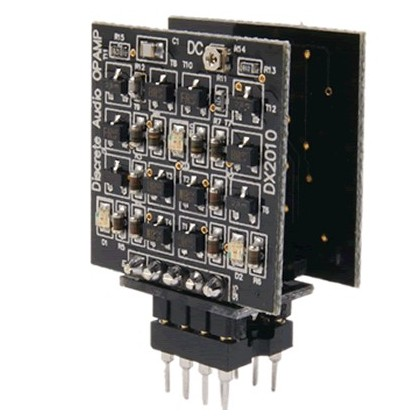 DEXA DISCRETE AUDIO OPAMP - AOP Double à composants discrets