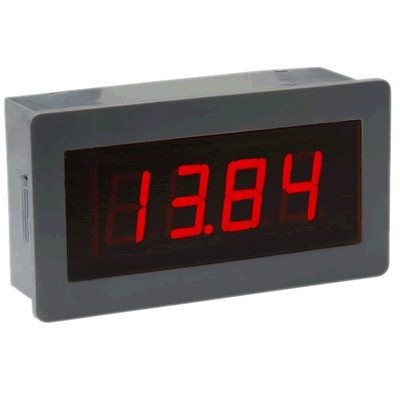 Voltage indicator voltmeter red LED 7-30 VDC
