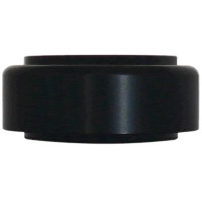 DYNAVOX Pieds Aluminium Anodisé 50x21mm Noir (Set x4)