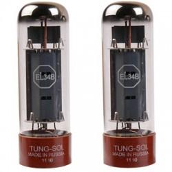 TUNG-SOL EL34 B Platinum Matched (paire appairée)
