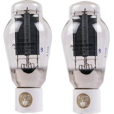 ELECTRO-HARMONIX 300B Goldpin Platinum Matched (paire appairée)