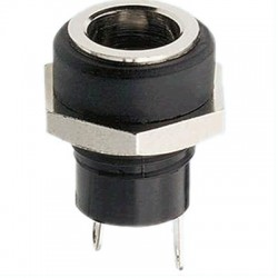 Embase d'alimentation femelle Jack DC 5.5 / 2.1 mm