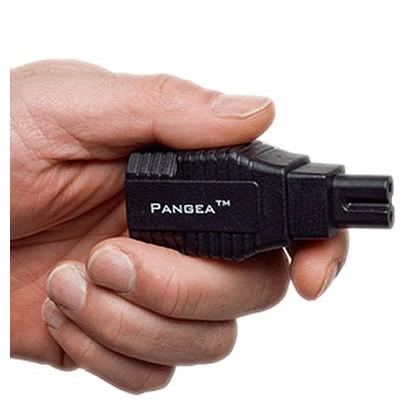 Pangea Adaptateur secteur IEC vers C7 cryogénisé Plaqué Or