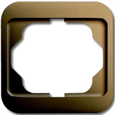 Busch-Jaeger Cache d'habillage Simple pour prise Schuko Bronze