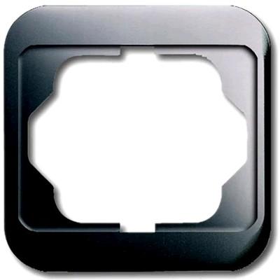 Busch-Jaeger Cache d'habillage Simple pour prise Schuko Platinum