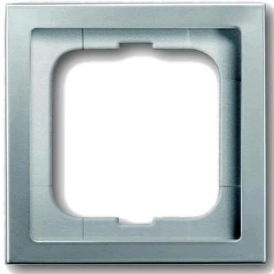 Busch-Jaeger frame for Schuko Wall plate Acier