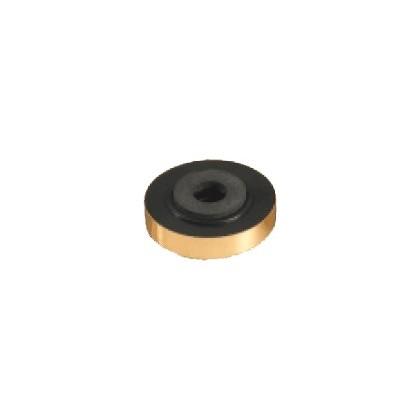 Pied pour appareil en plastique doré 60mm (unité)
