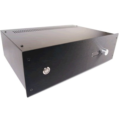 HIFI 2000 Pre-drilled case 3U 300mm Facade PGAVOL