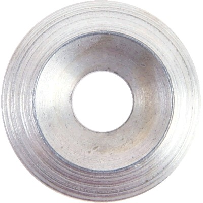 Washer Full Cup Steel White M4x2.5mm (x10)