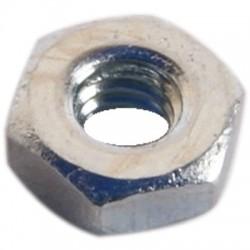 Ecrou HU Acier Zingué M2x1.45mm (x10)