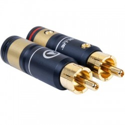VIABLUE T6s XL RCA Plug Gold Plated Ø 10.5mm (Set x4)