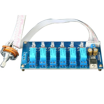 AMC - 6 Channel Stereo Source Selector Module Kit