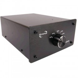 DYNAVOX AUX-S Commutateur sélecteur audio pour sources RCA Noir