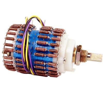 Vishay Dale Switch Potentiometer 1% - 10k Stereo Ladder