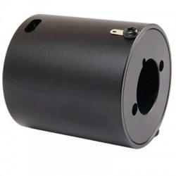 Boitier de Protection Aluminium pour Potentiomètre Commuté Noir