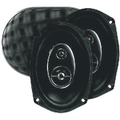 Haut-parleurs Coaxiaux Carbone CRB-3000CP (La paire)