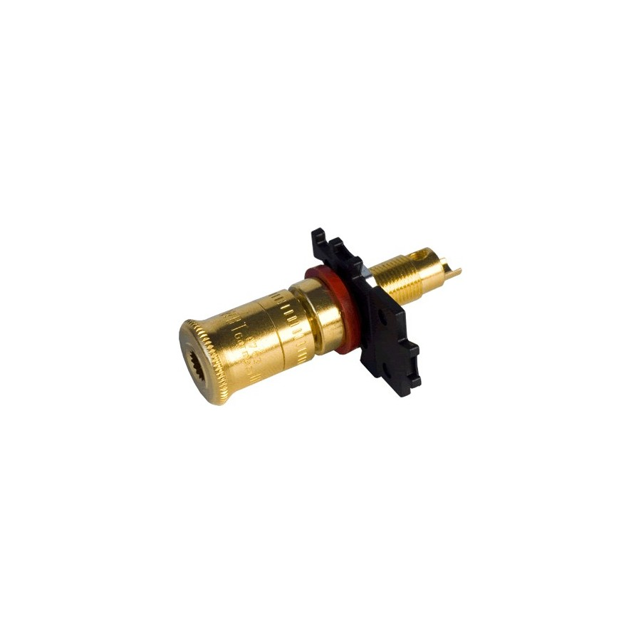 WBT-0763 Midline Terminal Blocks For Speakers Gold Plated