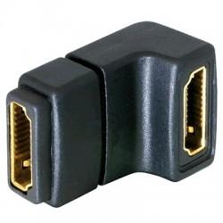 Adaptateur HDMI coudé 90° - Femelle Femelle