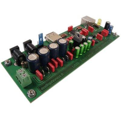 AUDIOPHONICS KIT Isolateur USB + Alimentation linéaire régulée