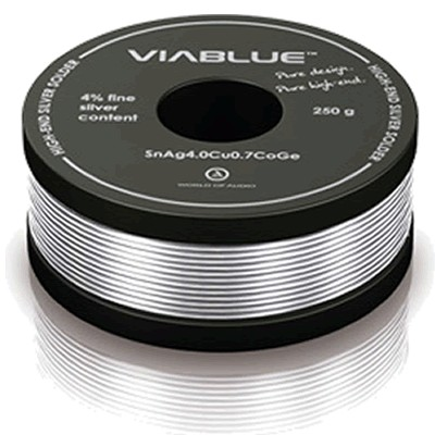 Soldering tin - Viablue welding Silver 4% 50g