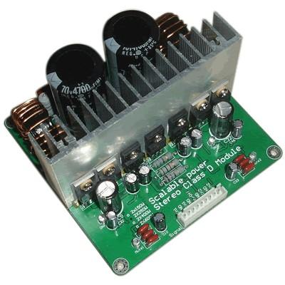 IRS2092 Amplificateur Stéréo Class D 2x 700W 4 ohms