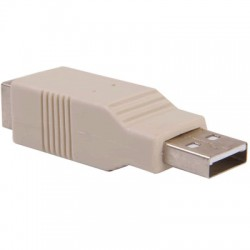 Adapter USB A Male to USB B Female