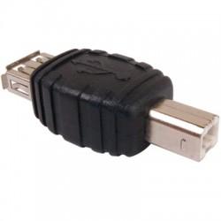 Adaptateur USB A Femelle vers USB B Male