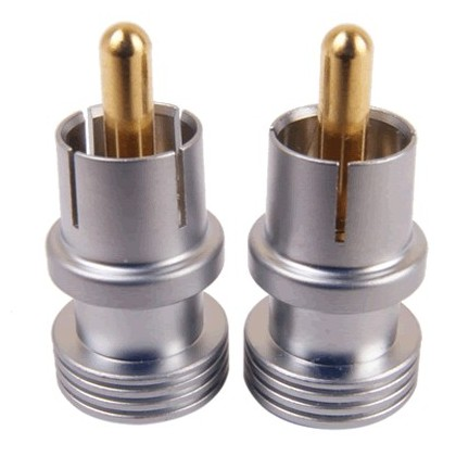 Elecaudio CAP-S - Capuchons Bouchons Terminateurs RCA (la paire)