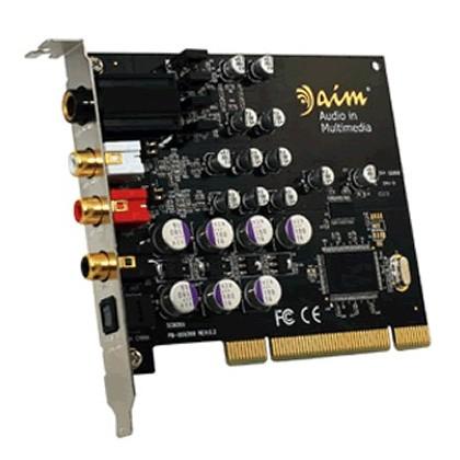 """AIM SC8000 Carte Son / Ampli Casque """"Audiophile"""" 24bit/192khz"""