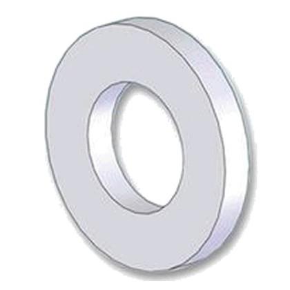Rondelle Plate Nylon M6 x 1.6mm (x10)