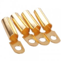 1877PHONO VINTA-CLIPS Gold Plated Copper (x4) 1.0 - 1.2 mm