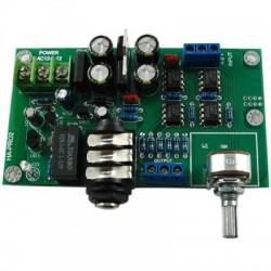 LJ HA-PRO2 Amplificateur Casque Stéréo AOP JRC 4580D