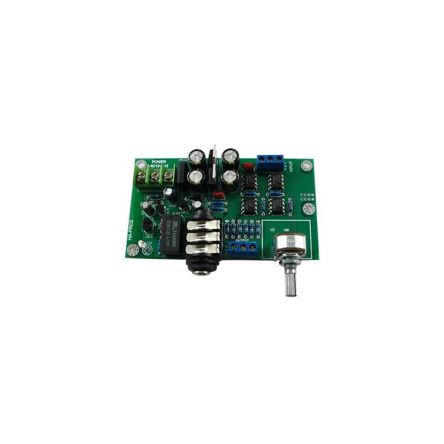 Lj Ha Pro2 Stereo Headphone Amplifier Aop Jrc 4580d Audiophonics Circuit Amplificateur Casque Stro