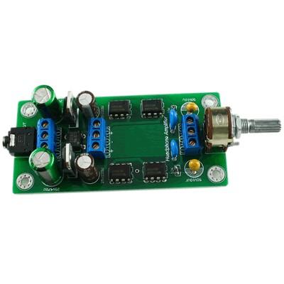 LJ P7SE Preamplifier / Amplifier Stereo Headphone AOP NE5532P