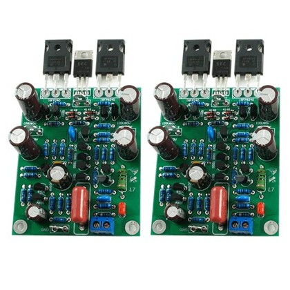 LJ L7 MOSFET Modules Amplificateurs Double Mono Class AB 2X300W