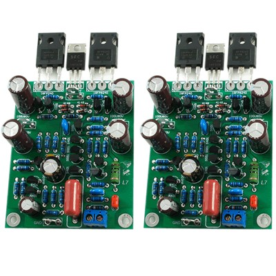 LJ L7 MOSFET Modules Amplifiers Dual Mono Class AB 2X300W