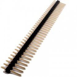 Barrette sécable à broches 1X36 écartement 2.54mm