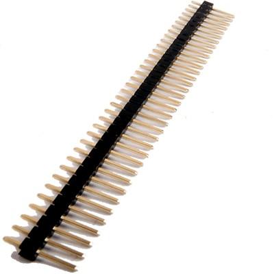 Connecteur Barrette 2.54mm Mâle Sécable 36 Pôles 5.5mm (Unité)