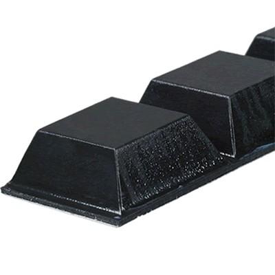 3M BUMPON Pieds Polyuréthane 20x8mm Noir (Set x4)