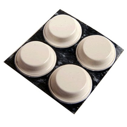 Pieds pour appareil Polyuréthane 3M BUMPON 13mm (set x4)