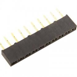 Connecteur Barrette Droit Femelle / Mâle 1x20 Pins Écartement 2.54mm