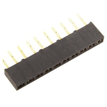 Socket pour Réglette à broches 1X20 écartement 2.54mm