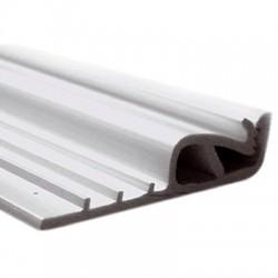 Profilés de fixation pour tissu mural tendu (blanc) 1m