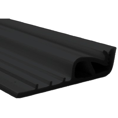 Fixing profiles for stretched wall fabric (Black) 1m