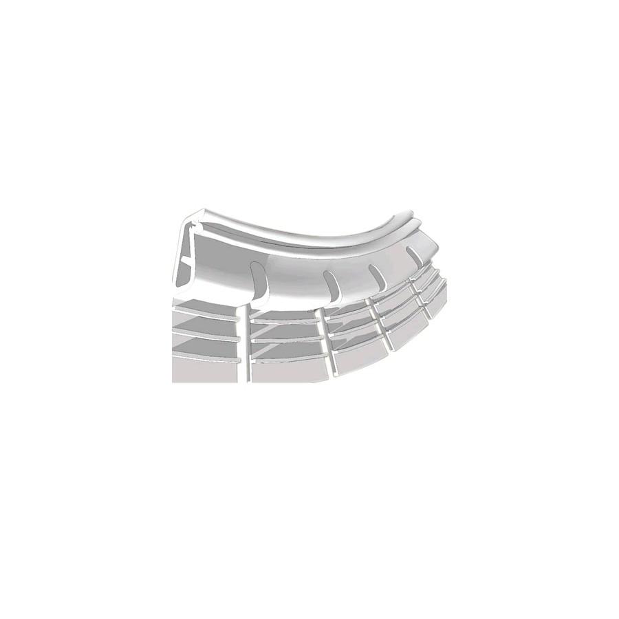 profil s de fixation flexible pour tissu mural tendu blanc audiophonics. Black Bedroom Furniture Sets. Home Design Ideas