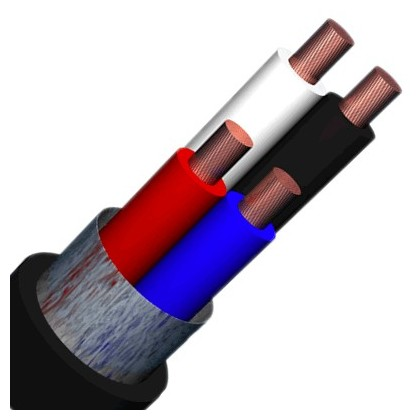 ELBAC HP425 - Câble enceinte cuivre OFC 4x2.5mm² Ø10.5 mm