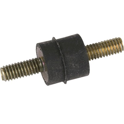 Neoprene Spacer Male / Male Vibration Isolator M4x10 + 10 + 10mm (Unit)